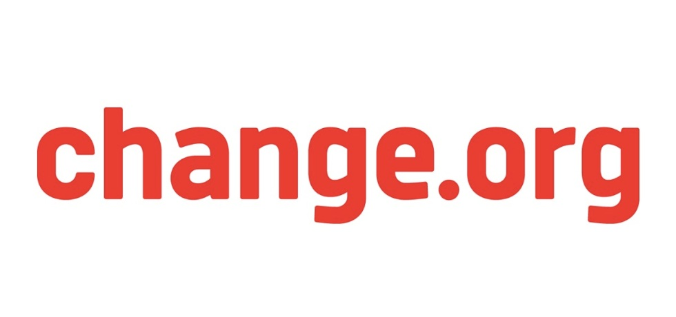 Change.org red text logo
